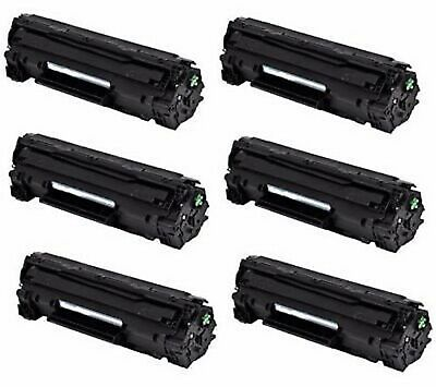 6-PK/PACK Q2612A Toner Cartridge HP 12A LaserJet 1012 1010 1018 1020 3030 3020 for sale  Shipping to India