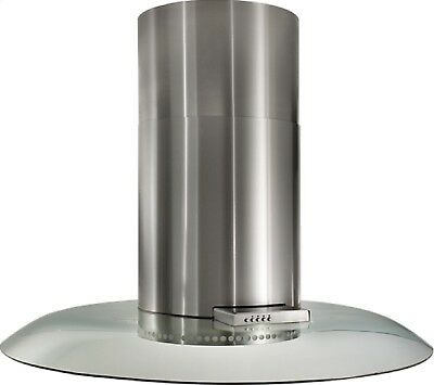 "Best Broan BER02ISSS Stainless Steel Island Hood w/ 47"" IS241 Glass Visor"