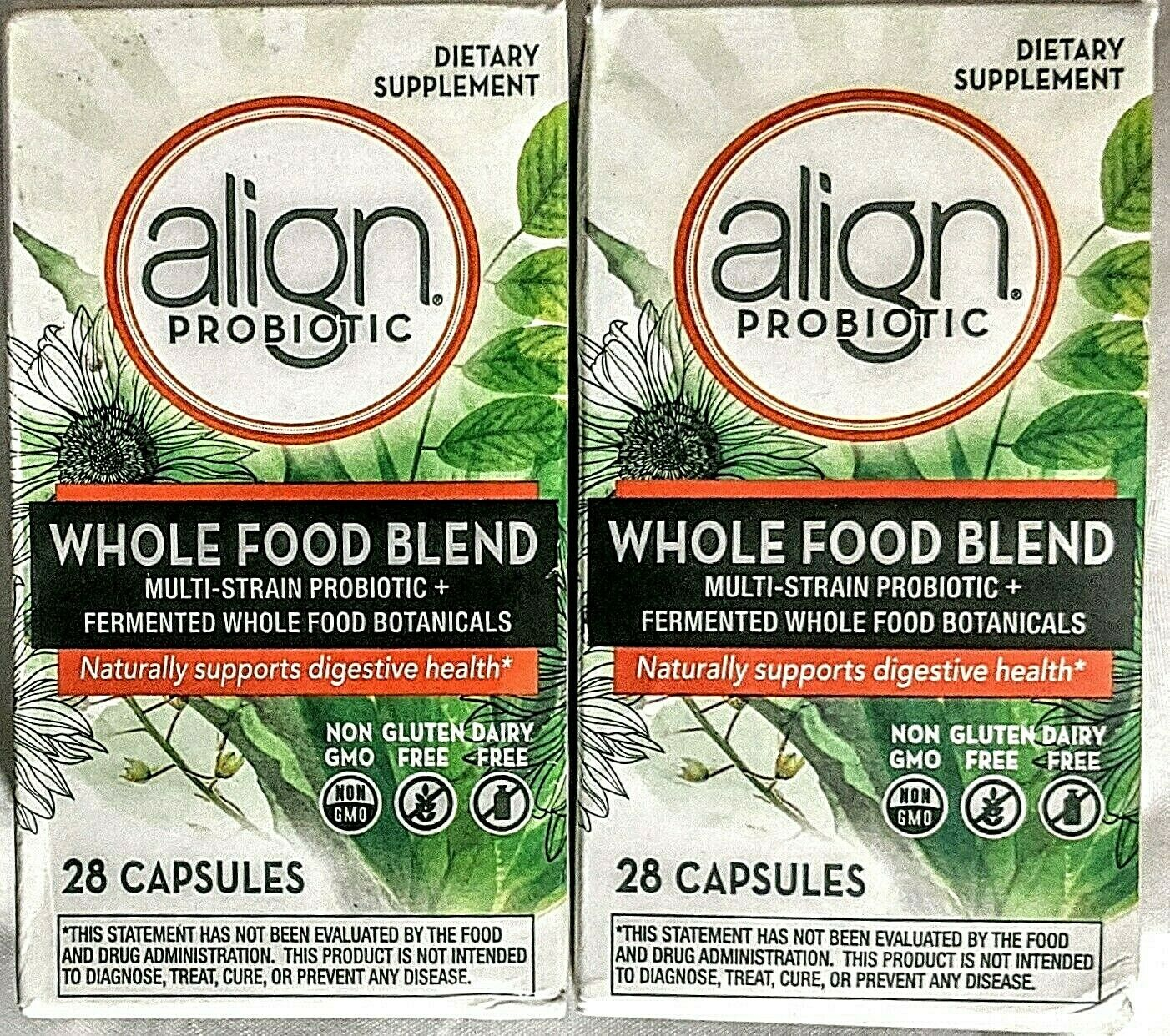 Align Whole Food Blend Multi-Strain Probiotic Supplement Mad