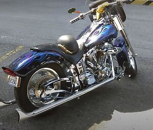Custom Softail EVO, all billet and chrome, over $35k spent
