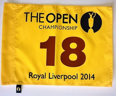 2014 British Open flag the open championship golf pga rory mcilroy wins
