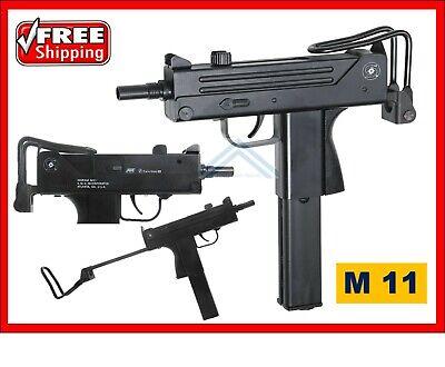 Tactical ASG Ingram M11 Pistol Rifle .177 Cal CO2 BB Semi-Auto Air Machine Gun