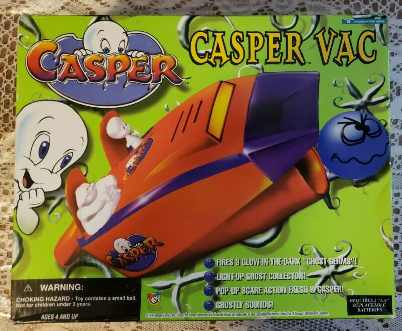 Trendmasters casper 1997 casper vac - new in open box