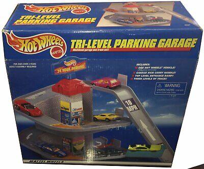Hot Wheels 3 Level Parking Garage Play Set