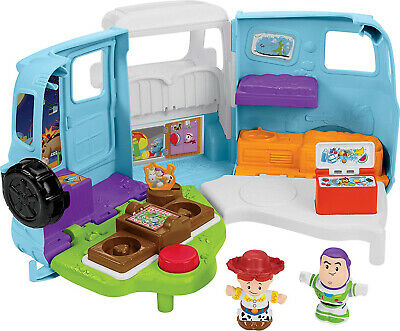 Fisher-Price Little People Disney Pixar Toy Story 4 RV Plays