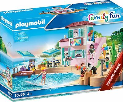 Playmobil 70279 - Ice Cream Store Am Port, New/Boxed, Presale