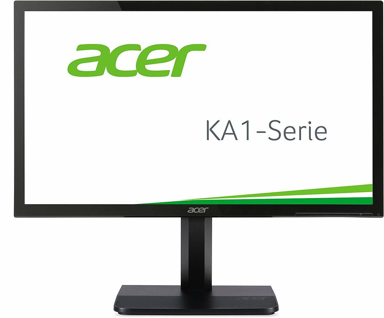 Acer KA241bid 61 cm (24 Zoll) Monitor (VGA, DVI, HDMI,5ms Reaktionszeit) schwarz