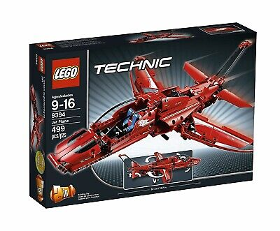 LEGO Technic Jet Plane (9394) 2-in-1 Jet Plane Retired - with box *100% COMPLETE