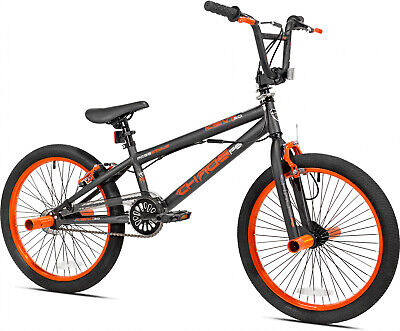 - 20 in BMX Freestyle Trick Stunt Bike Front Rear Pegs Brakes Boys 20 Bicycle