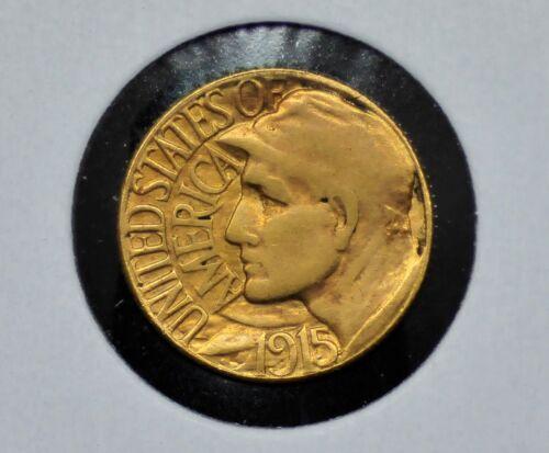 1915-S Panama-Pacific $1 Gold Commemorative Coin [089DUD]