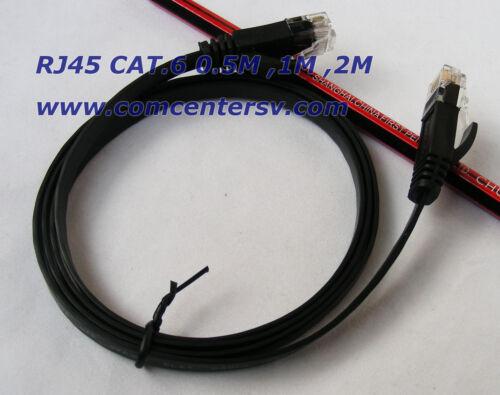 6FT CAT6 Cable 2m Ethernet Lan Network CAT 6 RJ45 Patch Cord Internet cat.6 bl