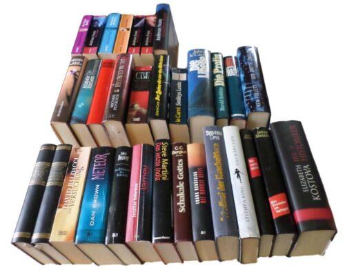 32 Thriller (1) von namhaften Autoren viele gebundene Ausgaben
