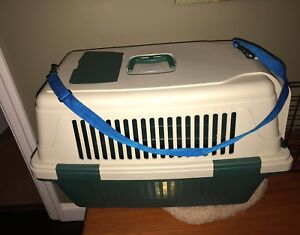 Fluggy small Dog+ Cat bed + carrier