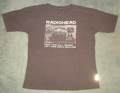 VTG 2000 RADIOHEAD EVERYTHING IN ITS RIGHT PLACE T SHIRT XL BLACK AUTHENTIC TEE ](Everything Shoes)