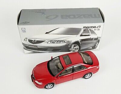 Mazda Dealer Edition 1/18 Red Mazda 6 Diecast Model FAW-Mazda Chinese Edition