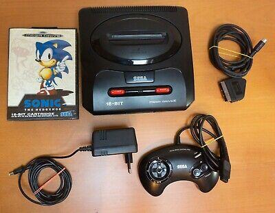 Console SEGA Megadrive 2 - complète - Entièrement Restaurée + 1 jeu