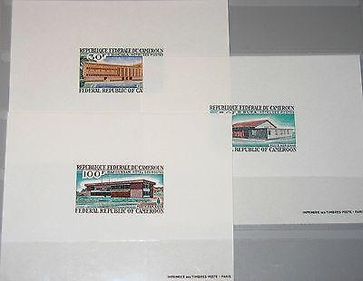 CAMEROUN KAMERUN 1969 578-80 C122-24 DELUXE Post Office Buildings Gebäude MNH