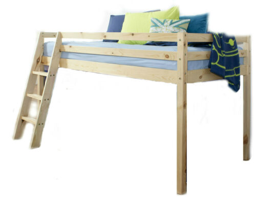 Home Wooden Mid Sleeper Shorty Bed Frame