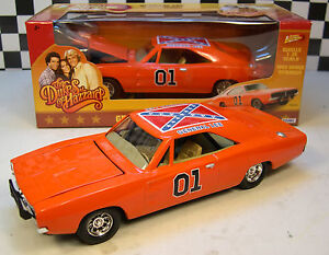 1:25 SCALE DUKES OF HAZZARD GENERAL LEE ORANGE 1969 DODGE CHARGER