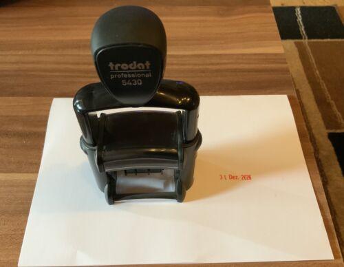 TRODAT Professional 5430 - Datumsstempel, selbstfärbend, Einfarbig