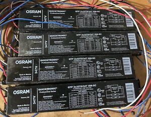 Osram Quicktronic Ballasts for Fluorescent Lighting 347V x4