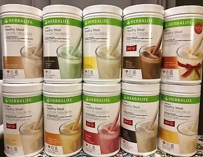 New 1X Herbalife Formula 1 Healthy Meal Shake Mix 750G  All Flavors Available