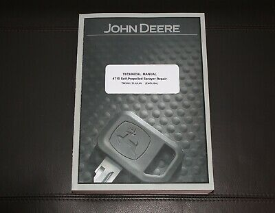John Deere 4710 Self-propelled Sprayer Service Repair Manual Tm1861