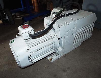 1 Used Leybold Trivac D65b Vacuum Pump W 3.0 Hp Motor Make Offer