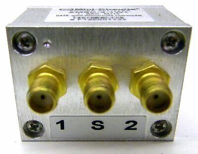 Mini Circuits Zmsc-2-1w Power Splitter Sma Connectors 1 To 650 Mhz