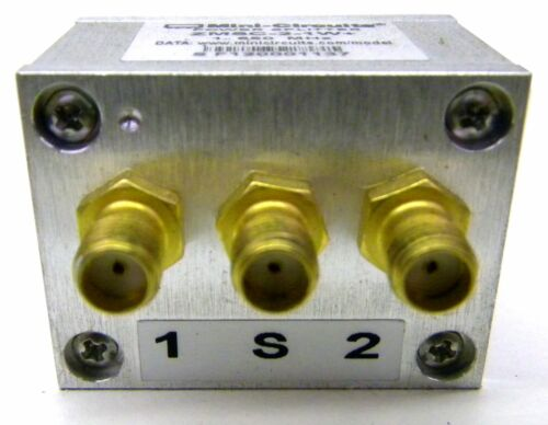 Mini Circuits ZMSC-2-1W+ Power Splitter SMA Connectors 1 to 650 MHz
