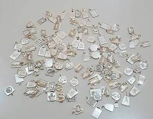 NEW - Ex Market Stock - Sterling Silver Zodiac Charms -145 Pieces Calwell Tuggeranong Preview