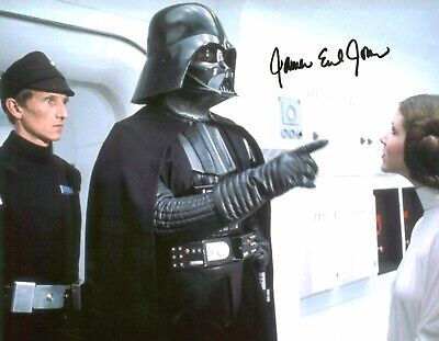 James Earl Jones (Star Wars - Darth Vader), Hand Signed Autograph 8 X 10 Photo.