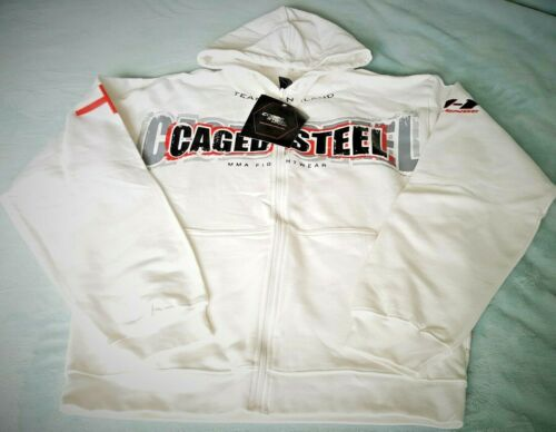 CAGED-STEEL MMA FIGHTWEAR HOODIE