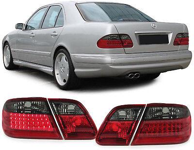 LED Rückleuchten rot schwarz für Mercedes E Klasse Limousine W210 95-03