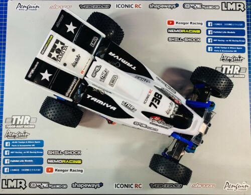 Tamiya Winger fits boomerang super sabre 1/10 buggy bodyshell with wing TRF