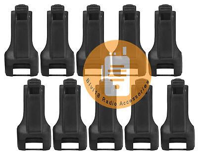 10x Hkln4510a Rm Series Carry Holster For Motorola Rmm2050 Rmu2040 Rmu2080 Radio