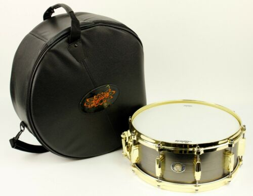 "Ludwig 110Th Anniv. Heirloom Black Brass Snare Drum 14X5.5""  Bag New #ISS5299"