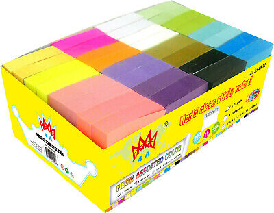 4A Sticky Notes Neon Assorted Small Size Self-stick Notes Office -