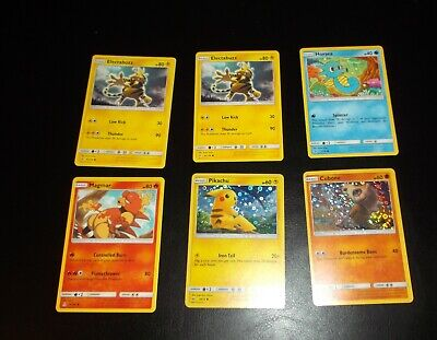 (Lot of 6)Pokemon Cards General Mills 2019 Promo LIMITED EDITION (2 foil, 4 reg)