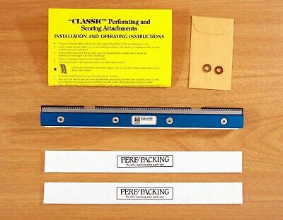 Image Graphics Industries Igi Perforating Attachment For Ab Dick 360 8800 9800