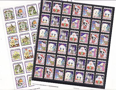 2015 U.S. Christmas Seals U.S Spring Charity Seals Sheet Collection - $13.75