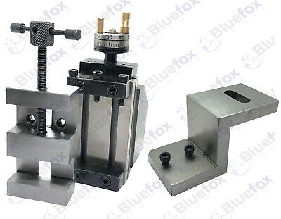 Mini Vertical Milling Slide On Z Type Caste Iron Angle Plate With 50mm Vice