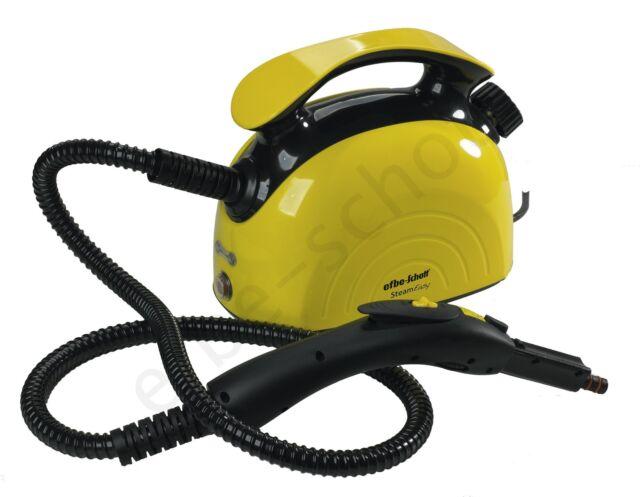efbe-schott 1.1 Litre 1500 W SteamEasy 4-Bar Steam Cleaner, Yellow