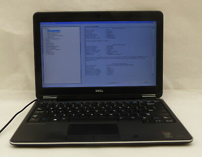 Dell Latitude E7240 Intel Core i5-4300U 1.9GHz 4GB No HDD 12.5
