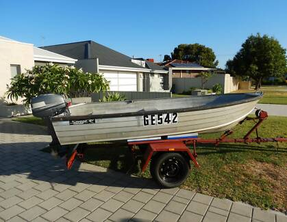 Dinghy and Motor
