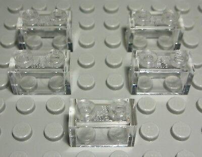 1435 Lego Platte rund 1x1 Rot 10 Stück
