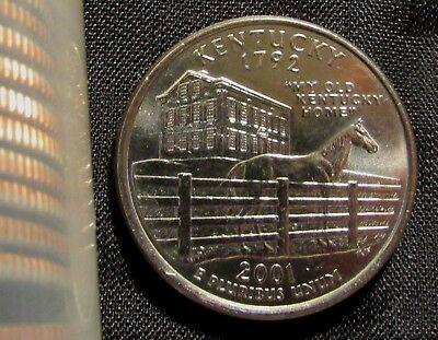 - 2001-D Denver Mint Kentucky State Quarter BU