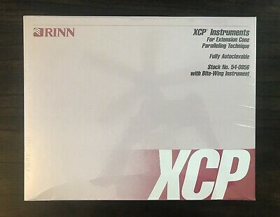Rinn Xcp Fully Autoclavable Bite-wing Instrument 54-0856 X-ray Dental - Sealed