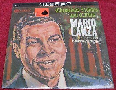 Mario Lanza Christmas Hymns And Carols [Vinyl LP, Camden, CAS