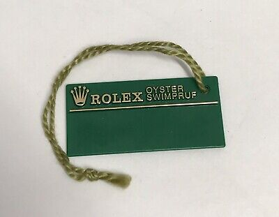 ROLEX Green Tag Hangtag Oyster Swimpruf S332953 SUBMARINER GMT EXPLORER 1993 OEM